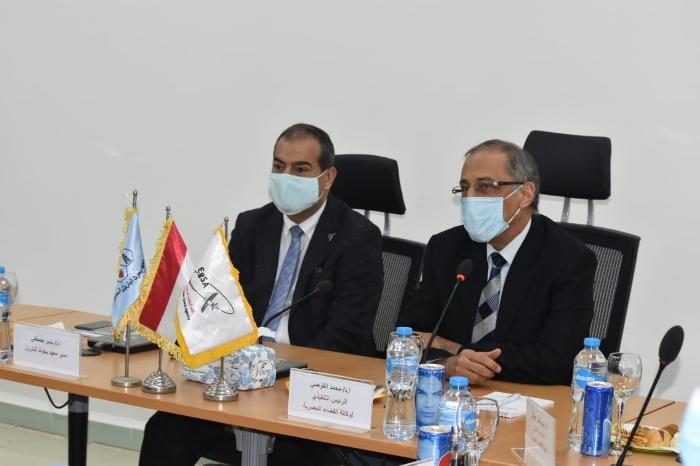 معهد بحوث البترول يوقع بروتوكول تعاون مع وكالة الفضاء المصرية   عالم الطاقة